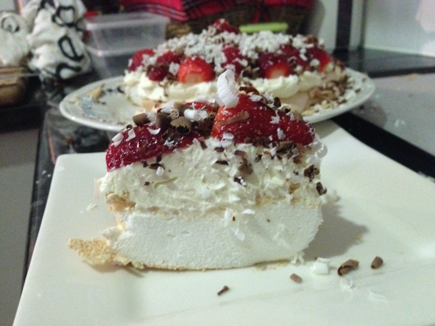 Strawberry and Cream PavlovaII