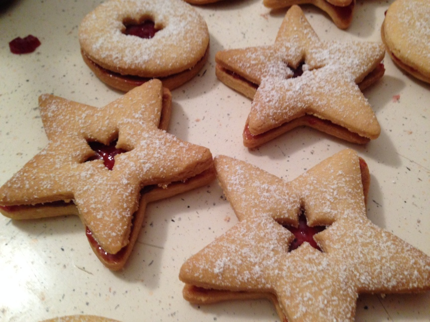 Sugar-Jam Cookies